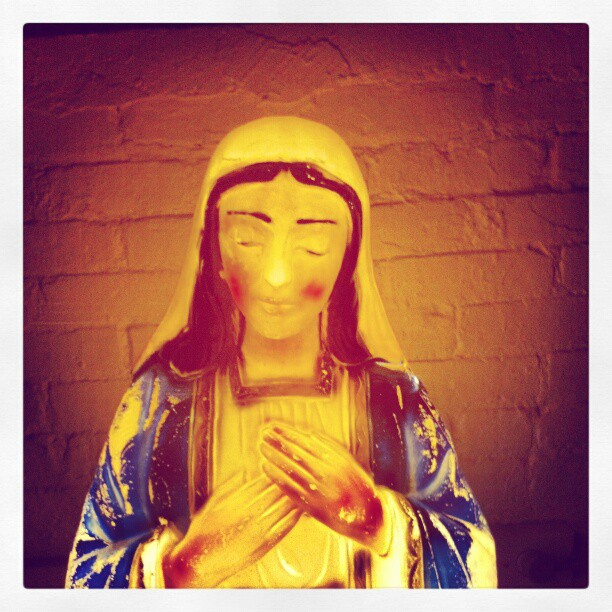 Our Lady of Gowanus #Brooklyn #mary #nyc #catholic