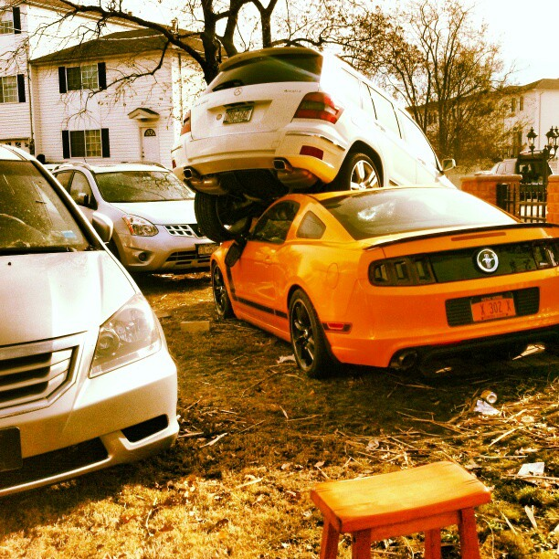 Staten Island #sandy #nyc #destruction #cars