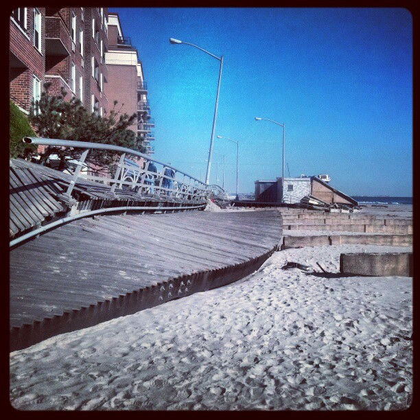 Boardwalk #sandy #newyork #queens #photography #destruction