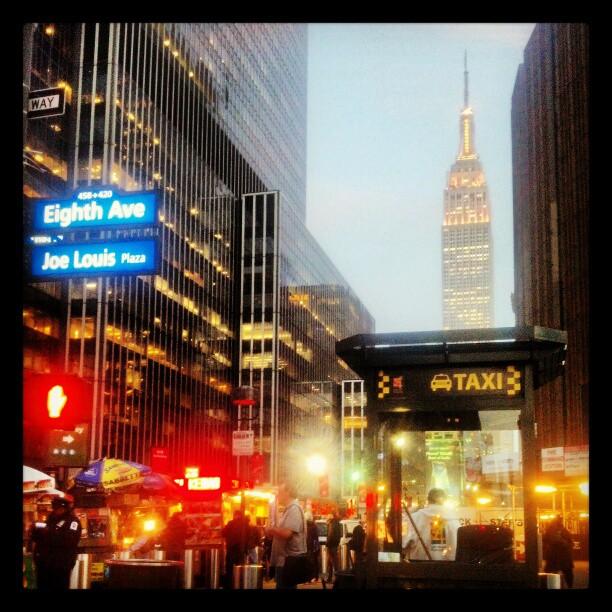 Taxi Stand #newyork #empirestate #landmark #photography #landscape