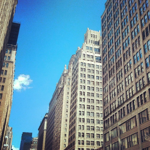 There is some pure light in NYC today.  #photography