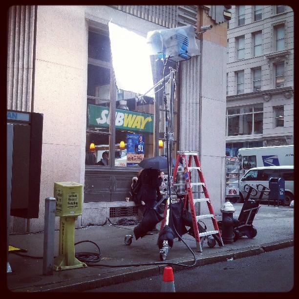 Production, NYC street #newyork #video #streetscene
