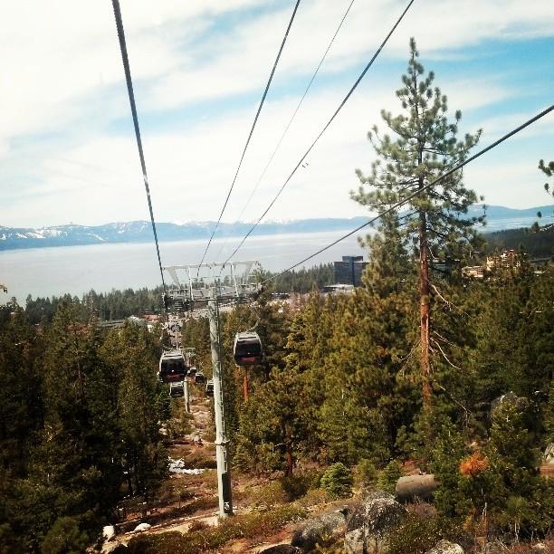 Gondola Ride #laketahoe #california #travel #photography
