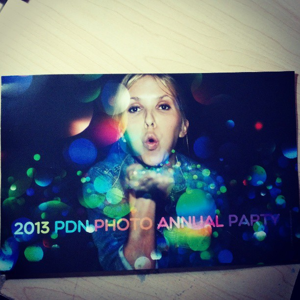 Look what came in the mail today !  My invite to the Oscars of the photo industry.  #photography #pdn #party #asmp #imastar