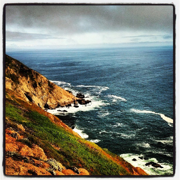 Dramatic Cliffs, Point Reyes #photography #landscape #travel #California