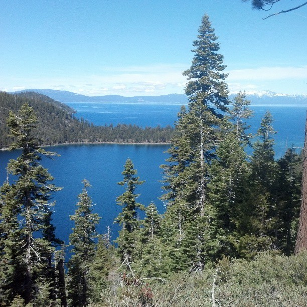 Emerald Bay, Lake Tahoe #travel #landscape #California #photography #nofilter