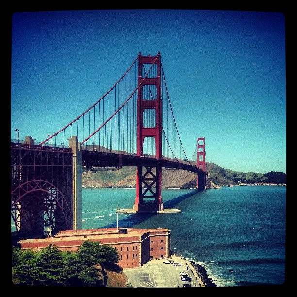 Golden Gate Bridge 2 #photography #California #travel #landmark