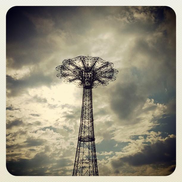 Parachute Jump #newyork #brooklyn #photography #coneyisland