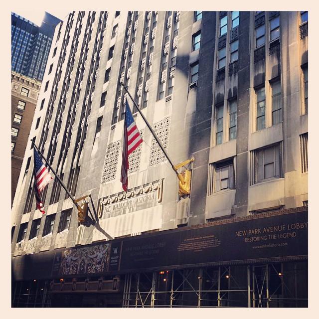 The Waldorf Astoria  #hotel #newyork #landmark