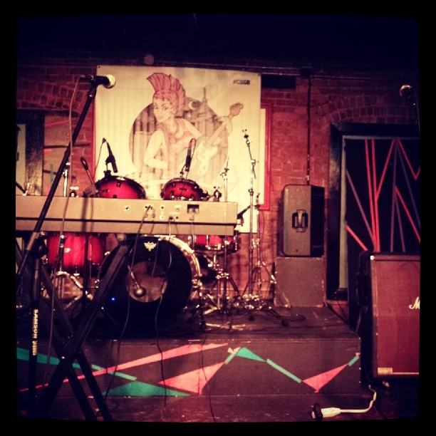 The Stage #tobaccoroad #cbgb #festival #music