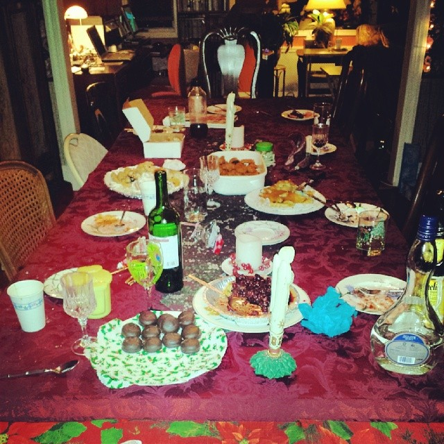 The Aftermath of a Crazy Fun Christmas #christmas #family #friends #fun
