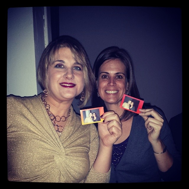 Naomi & Me with our Fuji Instax #asmpwinterparty #fujifilmus #instax