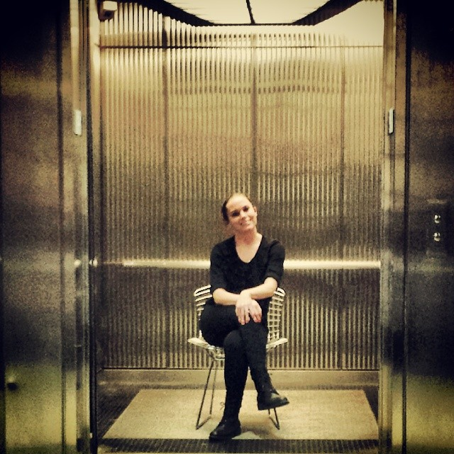 Chair in an Elevator #funny #humor #humorous #photography