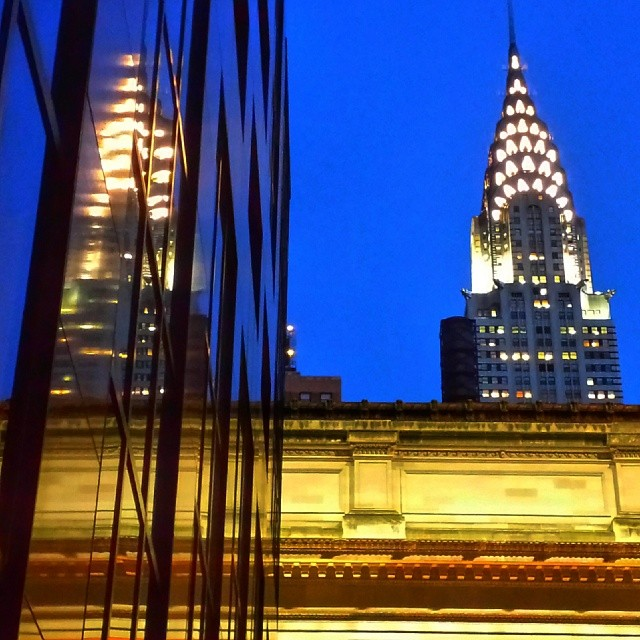 Chrysler Building Reflection #landmark #building #architecture #newyork