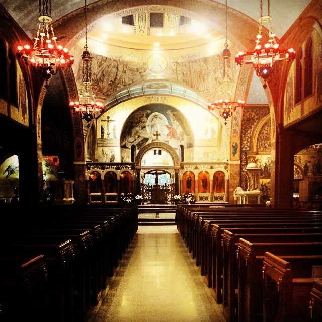 Transcept #cathedral #church #greek #orthodox