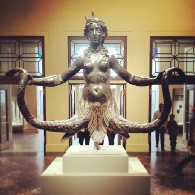 The Siren #mermaid #mermaids #metmuseum #decoration #sculpture