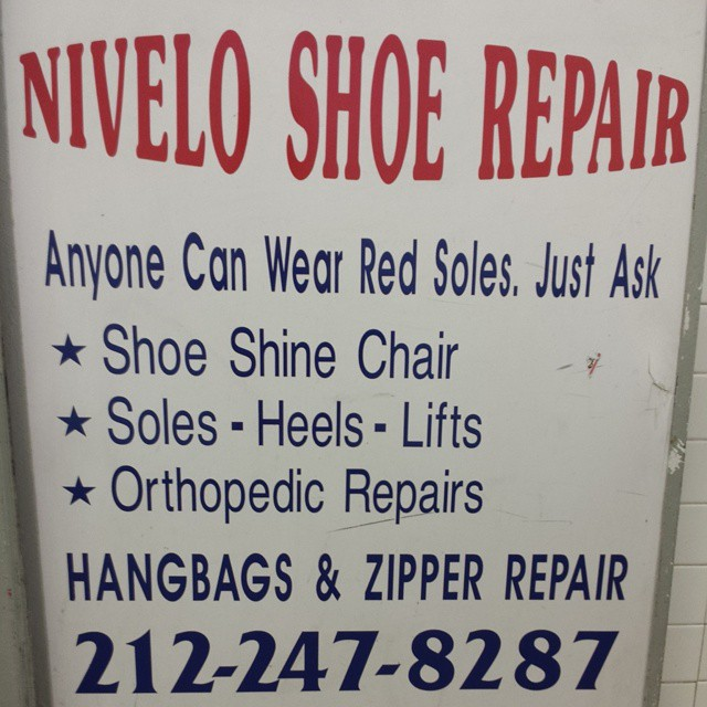 You too can wear a red sole #shoes #shoeporn