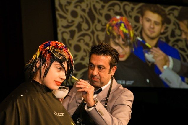 Anthony Mascolo, International Creative Director of TIGI