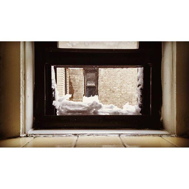 Windowsill, #blizzard #jonas #blizzardjonas #stormjonas