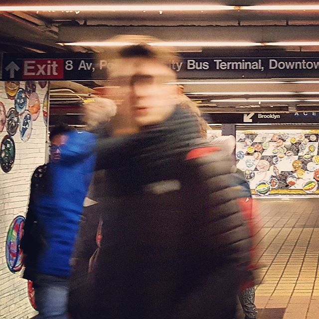 42nd Street Port Authority #mta #subway #nyc #nycphotographer