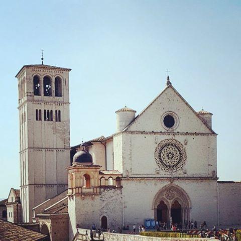 Ciao Assisi, siamo tornati #assisi #umbria #italy #stfrancis #sanfrancesco #cattolica #chebellaumbria