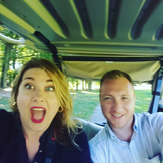 Drive Slow Brett, Drive Slow ! #qccouting #golfouting #qcc #queens #newyorkphotographer #newyorkeventphotographer #crazygolfcartdriving