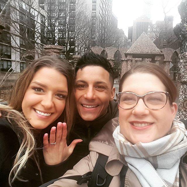 Love photographing surprise engagement s ! #surprise #newyorkphotographer #love