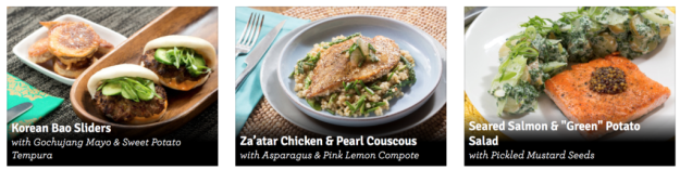 blue apron, meal prep, meal planning