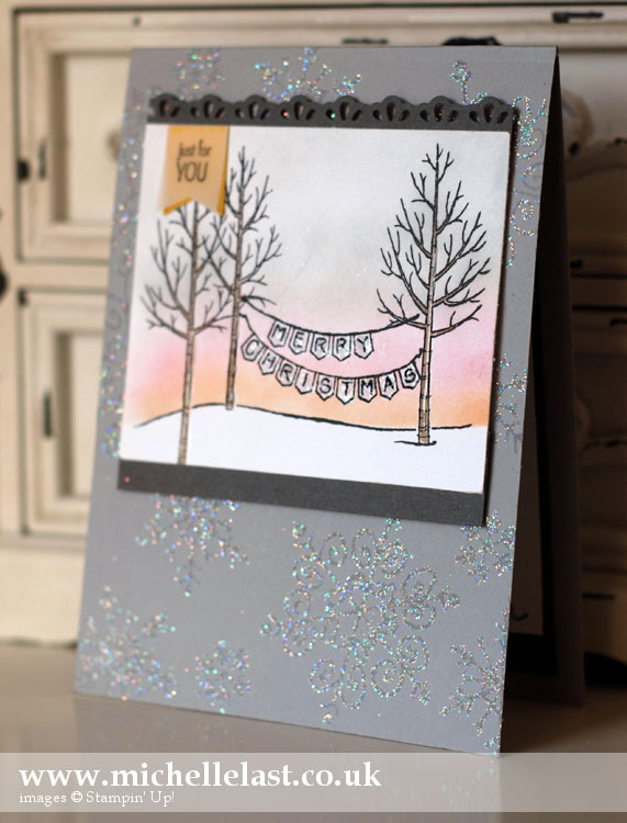 Handmade Christmas card by MIchelle Last