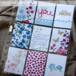 pocket-pages using stampin up products