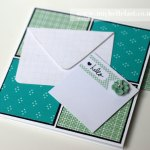 Hello Tab Card using Stampin' Up!