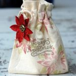 Stampin Up Muslin Bag
