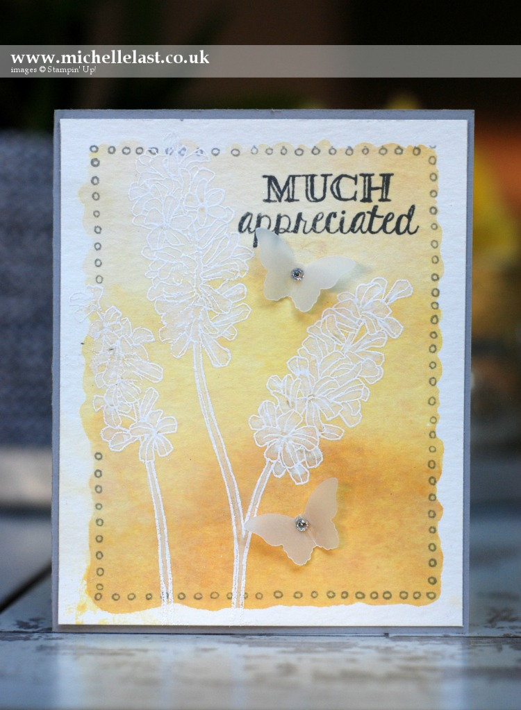 Helping me Grow from Stampin Up