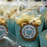 Baby Shower Favours using Stampin Up products