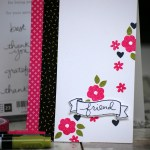 Technique 101 - Using Markers from Stampin Up on Endless Thanks