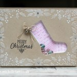 Hang you stocking from Stampin Up