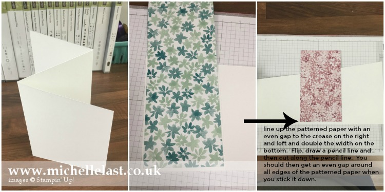 Z Fold Card for Technique 101 Blog Hop