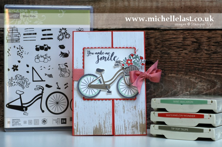 Bike Ride from Stampin' Up!