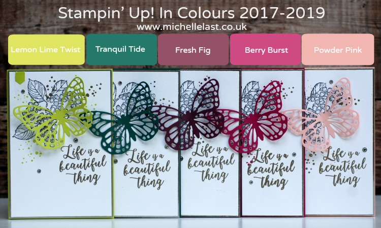Stampin Up In Colour 2017-2019