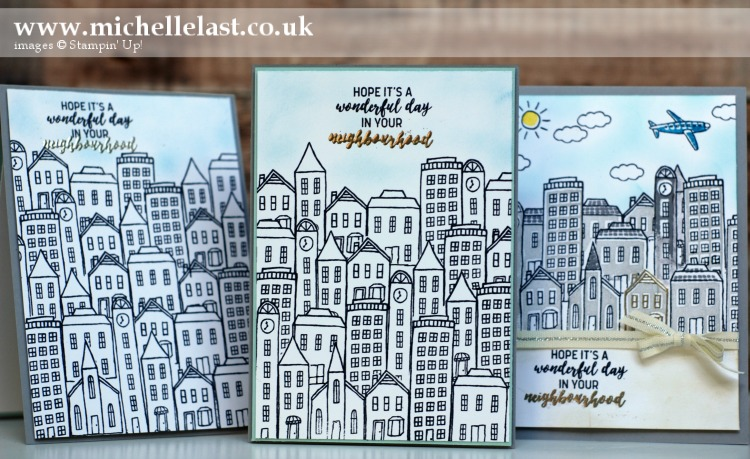 In the City Sampler from Stampin up
