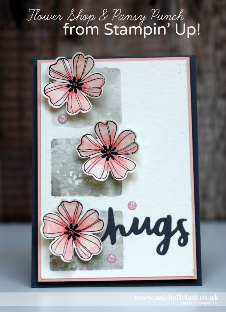 Flower Shop & Pansy Punch from Stampin Up