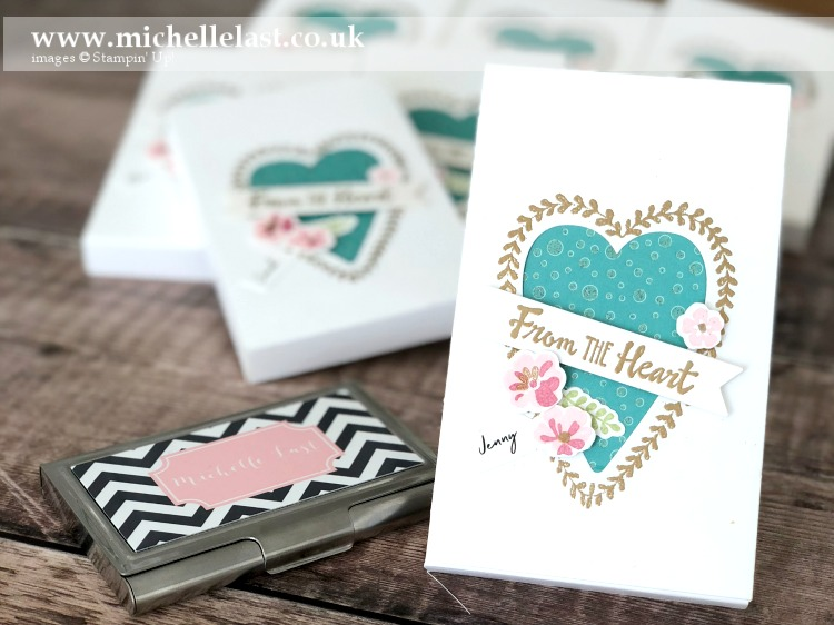 Lots to Love Dies from Stampin Up