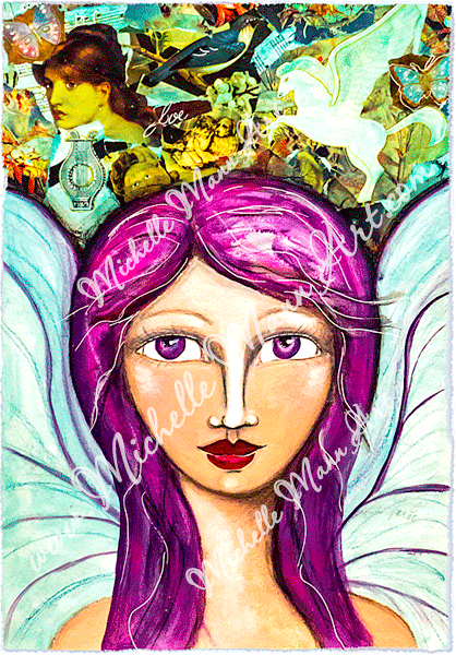 Angel of Peace by Michelle Mann copyright Michelle Mann 2017 all rights reserved