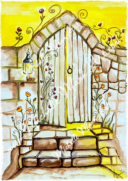 Doorway of Light by Michelle Mann copyright Michelle Mann 2017 all rights reserved