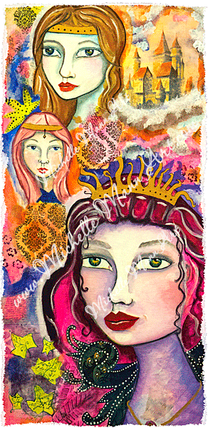 Queens and Princesses by Michelle Mann copyright Michelle Mann 2017 all rights reserved