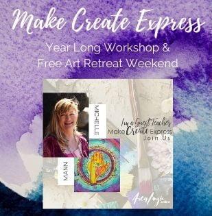 Make Create Express Art Workshop