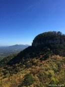 The Jomeokee Trail circles this pinnacle.