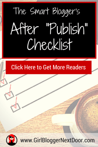 Checklist to Get Traffic to Your Blog Post