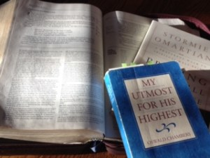Applying My Utmost for His Highest, Art of Listening Prayer, Oswald Chambers, Seth Barnes, post-high school Sunday School, church young adults study