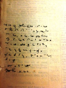 Shorthand and Oswald Chambers | Michelle Ule, Author